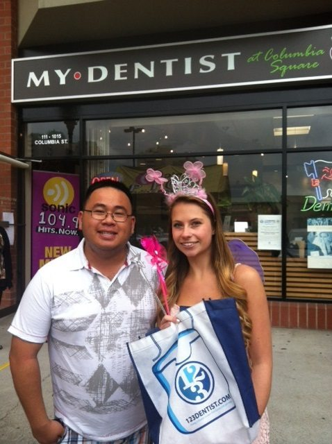 The Toothfairy Visits Columbia Square Dental