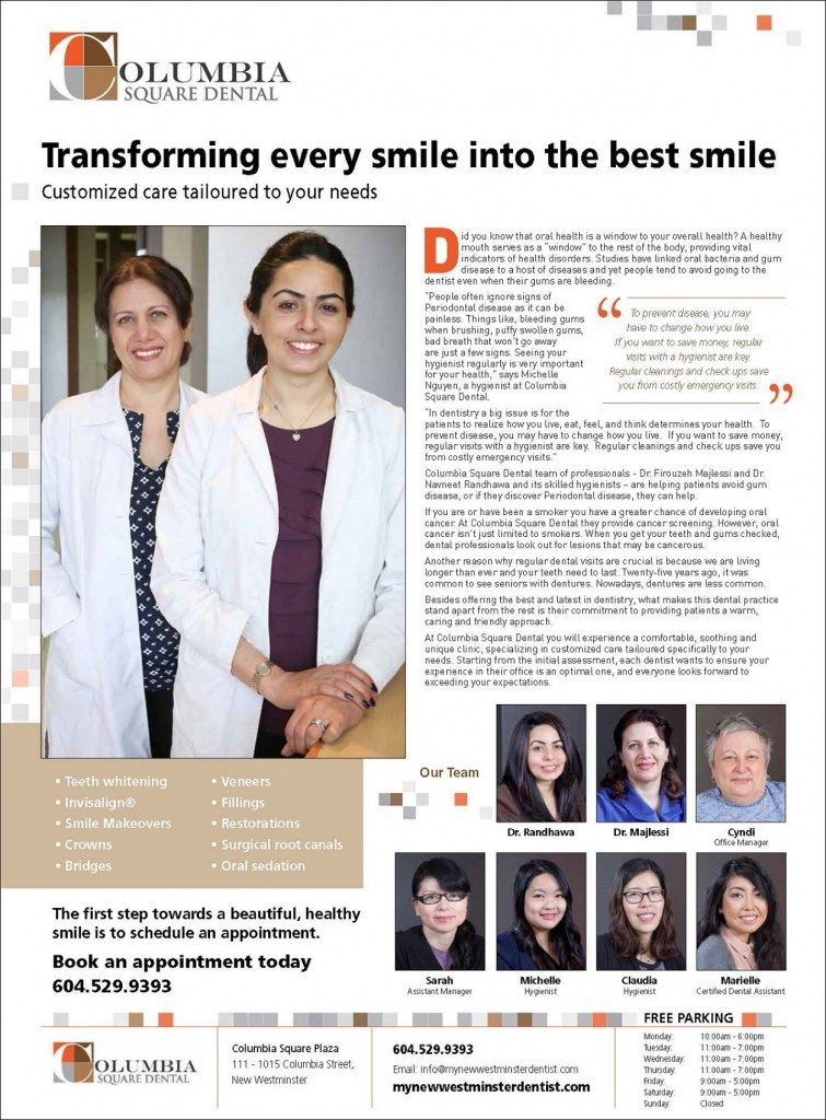 We love transforming your smile!