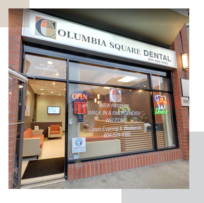 Columbia Square Dental Office Location